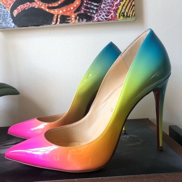 newest 665f5 4f5ef 🌈price firm🌈My new rainbow loubs 🌈